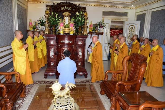 The Rite Praying for Peace at Kim Oanh Real Estate Company, Binh Duong