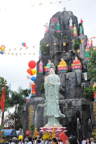 Lễ Phật đản tại BTS.GHPGVN huyện Hóc Môn