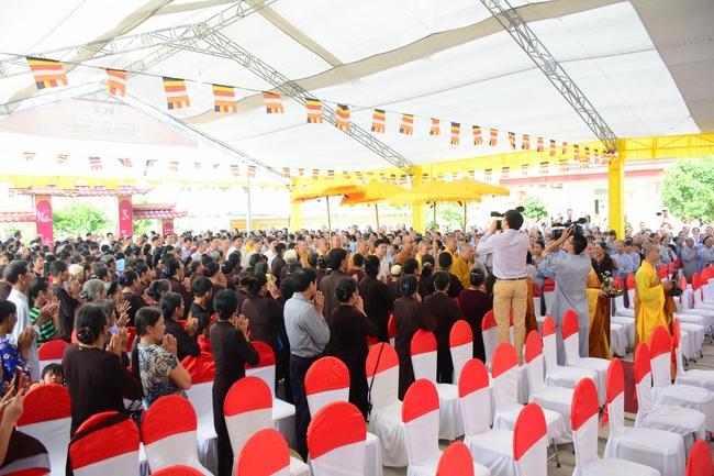 Lễ bổ nhiệm trụ trì tại chùa Đống Cao - Thanh Hóa 13