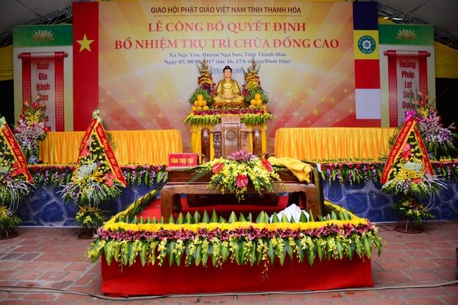 Lễ bổ nhiệm trụ trì tại chùa Đống Cao - Thanh Hóa 3