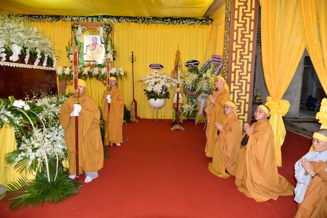 Lễ viếng cố đại lão Hòa Thượng Thích Minh Cảnh