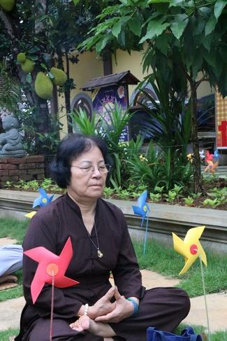 khóa tu thiền trà về để lắng nghe tại chùa hòa phúc 5