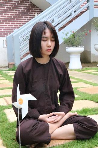 khóa tu thiền trà về để lắng nghe tại chùa hòa phúc 6