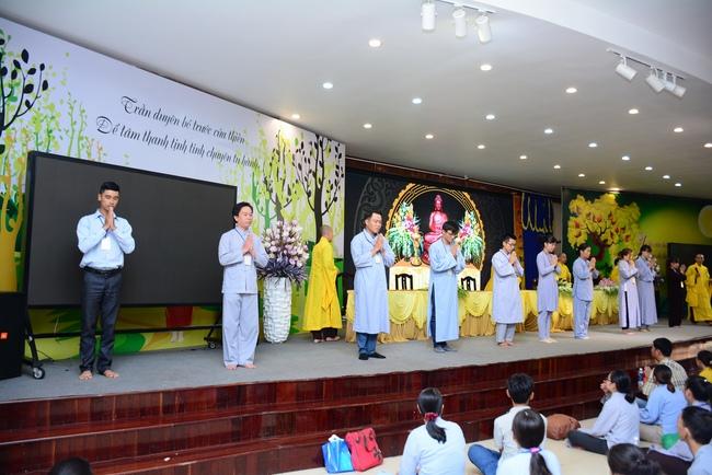 lễ quy y tam bảo tại chùa hoằng pháp lần thứ 2 trong năm 2018 6