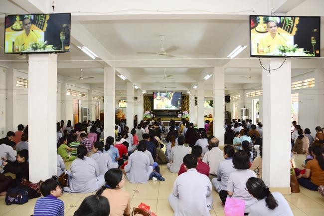 lễ quy y tam bảo tại chùa hoằng pháp lần thứ 2 trong năm 2018 10