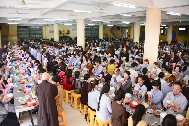 lễ quy y tam bảo tại chùa hoằng pháp lần thứ 2 trong năm 2018 12