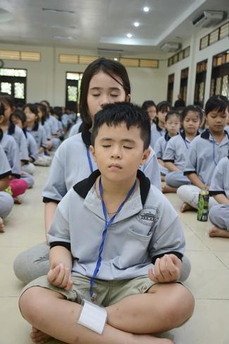 """Khóa tu thiếu nhi """"Em về bên Phật"""""""