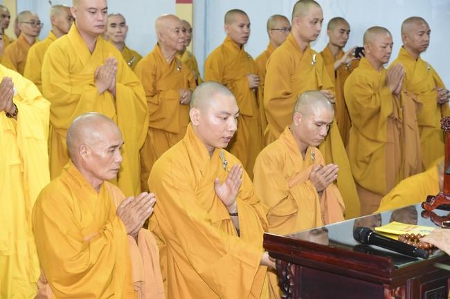 Chư Tăng Hoằng Pháp dự lễ đối thú An cư 2020